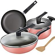 billiga Kök och matlagning-Köksredskap Rostfritt stål / järn Snabbhet Pot Vardagsanvändning / För köksredskap 3pcs