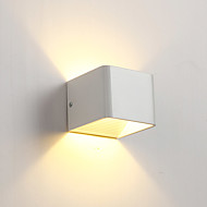 billige Vegglamper-Mini Stil LED / Moderne / Nutidig Vegglamper Stue / Soverom Aluminum Vegglampe 110-120V / 220-240V 5 W