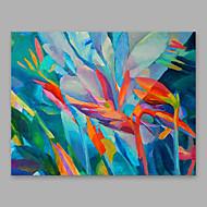 ieftine Picturi Florale/Botanice-Hang-pictate pictură în ulei Pictat manual - Floral / Botanic Modern pânză
