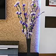 billige Kunstige blomster-Kunstige blomster 1 Gren Klassisk Moderne / Nutidig / Enkel Stil Evige blomster / Vase Gulvblomst