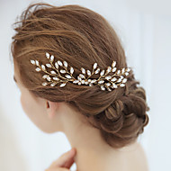 Aliaj Îmbrăcăminte de păr / Accesoriu de Păr cu Cristale / Strasuri 1 Bucată Nuntă / Ocazie specială Diadema