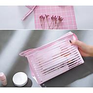 baratos Clutches & Bolsas de Noite-Mulheres Bolsas PVC Bolsa de Mão Ziper Branco / Preto / Rosa