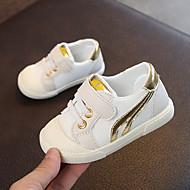 baratos Sapatos de Menino-Para Meninos / Para Meninas Sapatos Com Transparência Primavera & Outono Primeiros Passos Tênis Velcro para Bebê Cinzento / Vermelho / Azul