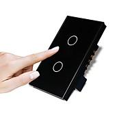 baratos Renovando-Interruptor Inteligente Novo Design / Criativo / Impermeável 1pç Vidro Toughened Na parede Controle Remoto