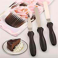 billige Bakeredskap-Bakeware verktøy Rustfritt stål Kreativ Kjøkken Gadget For kjøkkenutstyr Baking & Konditor Spatler 3pcs