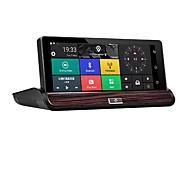 Factory OEM 1080p HD / Nacht Zicht Auto DVR 140 graden Wijde hoek 12 MP 7 inch(es) IPS Dash Cam met WIFI / GPS / Nacht Zicht Neen Autorecorder
