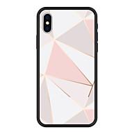billiga Mobil cases & Skärmskydd-fodral Till Apple iPhone X / iPhone 8 Plus Mönster Skal Geometriska mönster Hårt Akrylfiber för iPhone X / iPhone 8 Plus / iPhone 8