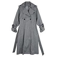 Dame Ternet I-byen-tøj Trenchcoat