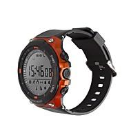 tanie Inteligentne zegarki-Inteligentny zegarek D-Watch 01D na iOS / Android Wodoodporne / Spalone kalorie / Długi czas czuwania / Twórczy / Nowy design Stoper / Krokomierz / Powiadamianie o połączeniu telefonicznym / Budzik