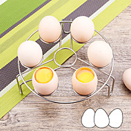 baratos Utensílios de Ovo-Utensílios de cozinha Inoxidável Rapidez Suporte Uso Diário / para ovos 1pç