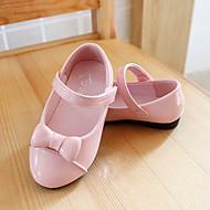 baratos Sapatos de Menina-Para Meninas Sapatos Couro Ecológico Verão / Outono MaryJane Rasos Laço / Velcro para Bebê Rosa claro