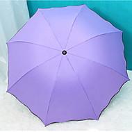 Χαμηλού Κόστους Ομπρέλες/Ομπρέλες ηλίου-Πλαστική ύλη / Ανοξείδωτο Ατσάλι Όλα Νεό Σχέδιο / Δημιουργικό Αναδιπλούμενη Ομπρέλα