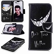 billiga Mobil cases & Skärmskydd-fodral Till Huawei Honor 10 / Honor 7A Plånbok / Korthållare / med stativ Fodral Ord / fras Hårt PU läder för Honor 8 / Honor 7X / Honor 7C(Enjoy 8)