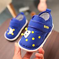 baratos Sapatos de Menina-Para Meninos / Para Meninas Sapatos Com Transparência Primavera & Outono Primeiros Passos Tênis Velcro para Bebê Azul Escuro / Rosa claro / Azul Real