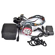 preiswerte -Fahrradlicht LED Radlichter LED Radsport Professionell, Anti-Shock, Einfach zu tragen Wiederaufladbarer Akku 9000 lm Natürliches Weiß Camping / Wandern / Erkundungen / Für den täglichen Einsatz