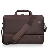 billige Computertasker-Lærred Geometrisk Laptoptaske Lynlås Rød / Lilla / Brun
