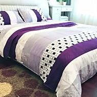 billige Hjemmetekstiler-Sengesett Geometrisk Polyester Reaktivt Trykk 4 deler