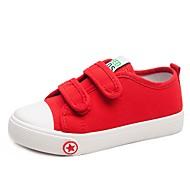 tanie Obuwie dziewczęce-Dla dziewczynek Obuwie Płótno / PU Wiosna i lato Wygoda Adidasy Spacery na Dzieci Biały / Czarny / Czerwony