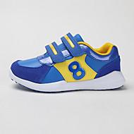 baratos Sapatos de Menina-Para Meninas Sapatos Microfibra Primavera & Outono Conforto Tênis Velcro para Infantil Preto / Fúcsia / Azul Real