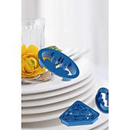 billige Bakeredskap-Bakeware verktøy Plast GDS Brød / For kjøkkenutstyr / Til Kake Cake Moulds 4stk