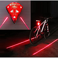 billige Sykkellykter og reflekser-Baklys til sykkel / Baklys LED Sykling Vanntett, Bærbar, Slitasje-sikker Li-ion 20 lm Oppladbar Rød Camping / Vandring / Grotte Udforskning / Sykling