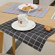 billige Løpere-Moderne 100g / m2 Polyester Strik Stretch / Ikke Vevet Kvadrat Bordskånere Geometrisk Borddekorasjoner 1 pcs