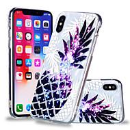 billiga Mobil cases & Skärmskydd-fodral Till Apple iPhone X / iPhone 8 Plus Mönster Skal Frukt Mjukt TPU för iPhone X / iPhone 8 Plus / iPhone 8