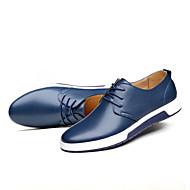 baratos Sapatos Masculinos-Homens Microfibra Primavera / Outono Conforto Tênis Preto / Marron / Azul
