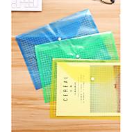 billige Oppbevaring og Organisering-5 stk gjennomsiktig a4 papir dokument fil bag lomme lagring arrangør kontor