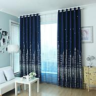 verduisteringsgordijnen gordijnen slaapkamer modern polyester blend gedrukt verduisterend