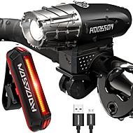 preiswerte -Fahrradlicht / Rückleuchten LED Radlichter Radsport Wasserfest, Tragbar, Schnellspanner Li-Polymer 200 lm Camping / Wandern / Erkundungen / Mehrere Modi