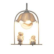 billige Vegglamper-moderne / moderne / land vegg lamper& sconces stue / stuen / kontor metall vegg lys 110-120v / 220-240v max 60w