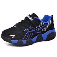 baratos Sapatos de Menino-Para Meninos Sapatos Com Transparência Outono & inverno Conforto Tênis Caminhada Presilha para Adolescente Laranja / Azul