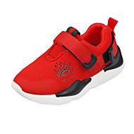 baratos Sapatos de Menino-Para Meninos Sapatos Com Transparência Outono & inverno Conforto Tênis Caminhada Presilha para Adolescente Preto / Vermelho