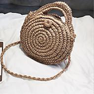 Χαμηλού Κόστους Τσάντες ώμου-Γυναικεία Τσάντες Πολυεστέρας Τσάντα ώμου Φερμουάρ Μπεζ / Καφέ