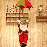 baratos Decoração-Enfeites de Natal Férias Tecido de Algodão Quadrada Novidades Decoração de Natal