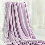 tanie Ręcznik kąpielowy-Najwyższa jakość Ręcznik kąpielowy, Jendolity kolor 100% mikrofibra Łazienkowe 1 pcs