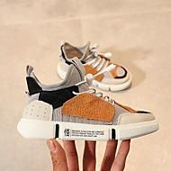 baratos Sapatos de Menino-Para Meninos Sapatos Com Transparência Verão Conforto Tênis Cadarço para Infantil Branco / Marron / Azul