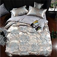 billige Luksuriøse dynetrekk-Sengesett Luksus Polyester Mønstret 4 deler