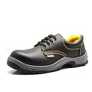 baratos Sapatos de Tamanho Pequeno-Homens Couro Sintético Primavera / Outono Conforto Tênis Aventura Preto