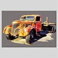 billige Nyheter-Hang malte oljemaleri Håndmalte - Still Life Moderne Lerret