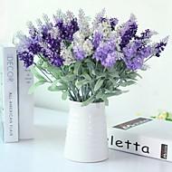 billige Kunstig Blomst-Kunstige blomster 5 Afdeling Klassisk / Enkel Stilfuld / pastorale stil Lyseblå Bordblomst