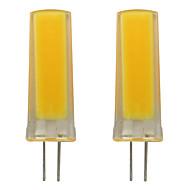 billige Bi-pin lamper med LED-2pcs 3 W 150-200 lm G4 LED-lamper med G-sokkel 1 LED perler COB Dekorativ Varm hvit / Kjølig hvit 110-120 V