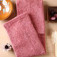 billige Hjemmetekstiler-Overlegen kvalitet Badehåndkle, Ensfarget / Geometrisk 100% bomull Baderom 1 pcs