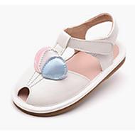 baratos Sapatos de Menina-Para Meninas Sapatos Couro Sintético Primavera & Outono Conforto / Sapatos para Daminhas de Honra Sandálias para Dourado / Branco