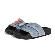 baratos Sapatos de Menino-Para Meninos Sapatos Jeans Verão Conforto Chinelos e flip-flops para Infantil Azul Escuro / Azul Claro