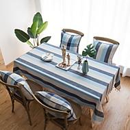 billige Duker-Moderne 100g / m2 Polyester Strik Stretch Kvadrat Duge Stripet Borddekorasjoner 1 pcs