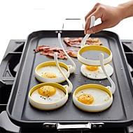 tanie Akcesoria kuchenne-Narzędzia kuchenne Nylon Najwyższa jakość / Kreatywny gadżet kuchenny / Zrób to Sam Forma DIY / Narzędzia DIY Jajko 2 szto.