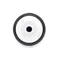 billige Innendørs IP Nettverkskameraer-HQCAM Fisheye VR 360 Degree Panoramic Camera HD 960P Wireless Wifi IP Camera Home Security Surveillance System 1.3 mp IP-kamera Innendørs Brukerstøtte 0 GB g