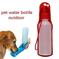 Χαμηλού Κόστους Μπολ σκυλιών & Ταΐστρες-0.03-0.05 L L Σκυλιά / Γάτες Μπολ & Μπουκάλια Νερού Κατοικίδια Μπολ & Διατροφή Φορητό / Για Υπαίθρια Χρήση Κόκκινο / Μπλε / Ροζ
